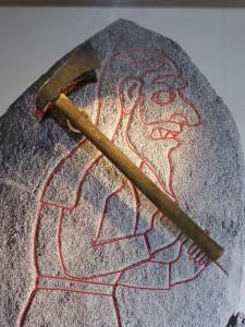 Rhynie axe reconstruction
